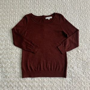 LOFT 3/4 sleeve lightweight sweater